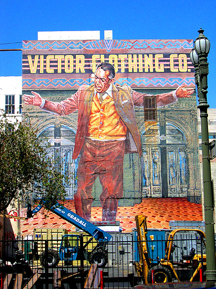 Photo op broadway sun santeria for Anthony quinn mural