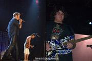 van halen rehearsal @ the forum, inglewood, 9/16/2007: Wolfgang Van Halen
