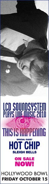 LCD Soundsystem at Hollywood Bowl on Friday October 15: Buy tickets now!