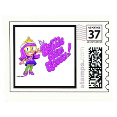 bubblegum queenstamp