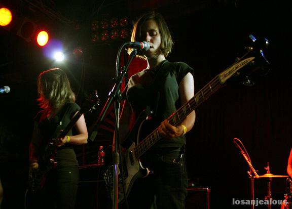 electrelane @ troubadour, 5/31/2007