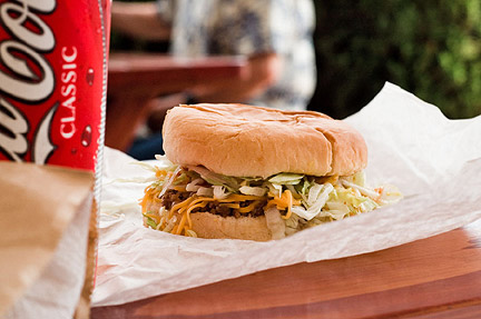 Henry's Taco Burger