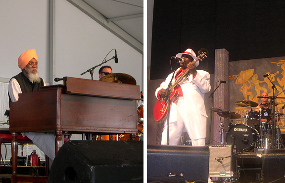 new orleans jazz festival: Dr. Lonnie Smith, Lucky Peterson