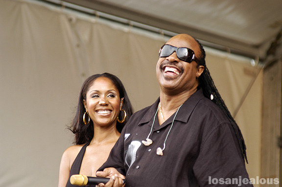 Stevie Wonder @ New Orleans Jazzfest 2008
