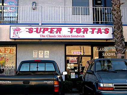 holy shit, it's super tortas!