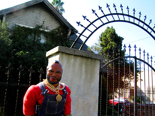 Mr T at Glenn Danzig's House