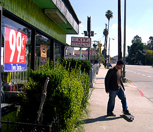 two tacos 99cents, 40-year-old skater