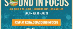 Sound in Focus @ Century Park - Schedule & Lineup