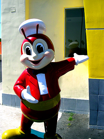 jollibee on a hot day