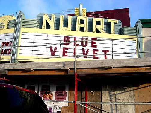 nuart blue velvet