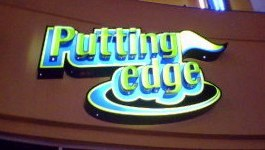 putting edge sign