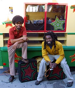 reggae truck