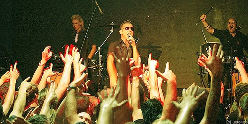 Nitzer Ebb in Moscow