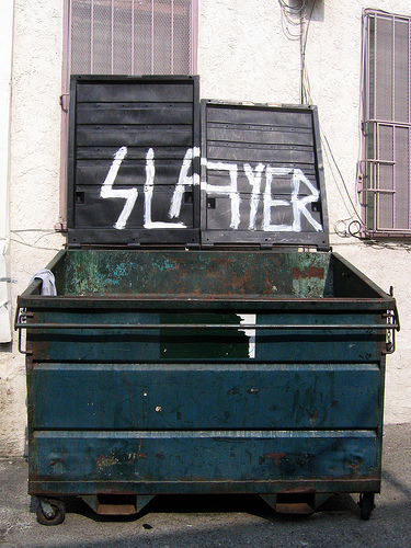 Slayer Dumpster, Fairfax Village