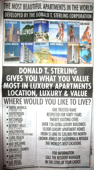 Sterling LA Times Real Estate Ads Deemed 'Ugly As All Holy Hell' By Local Blogger