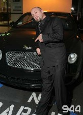 Steven Harlow rocks the Bentley!