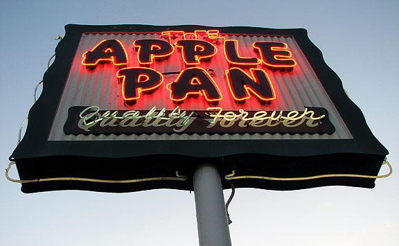 So Long, Apple Pan