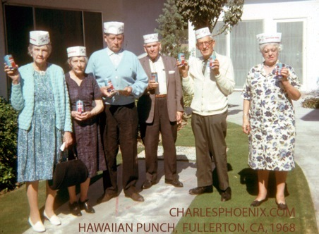 Charles Phoenix's Slide of the Week: Hawaiian Punch, Fullerton, 1962