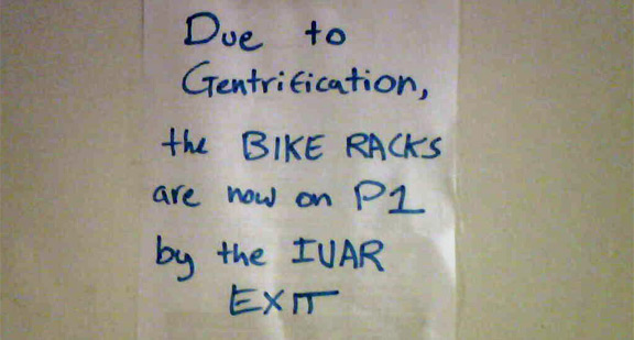 Photo Op: Arclight Bike Rack GentrIvarfication