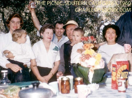 Charles Phoenix's Slide of the Week: The Picnic, Southern California, 1960
