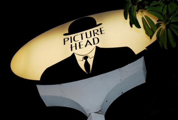 Found Porn: Picture Head