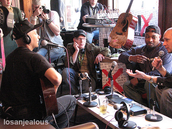 SXSW -- Exclusive: Tom Morello & Chuck D.