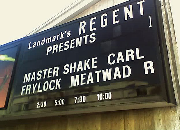 Local Movie House Delights With Humorous Marquee