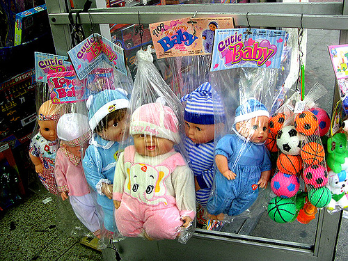 Broadway Babies in Bags