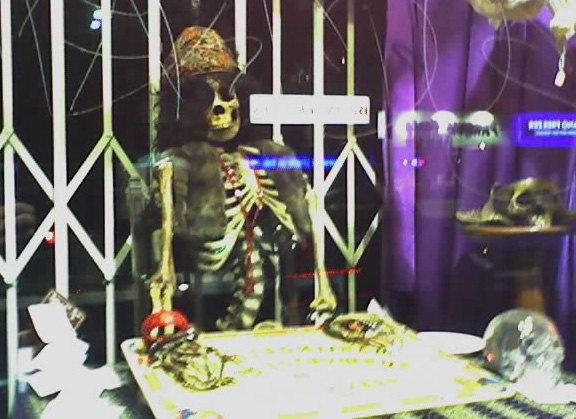 Cellshots: Skeleton Tarot, Necromance (Melrose)