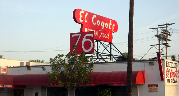 """Developing: Repurposed """"75"""" Atop El Coyote Not Nearly As Shitty-Looking As You Might Imagine"""