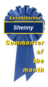 Losanjealous April 2007 Commenter of the Month: Shenny!