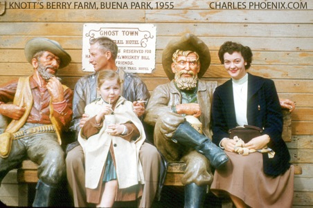 Charles Phoenix's Slide of the Week: Knott's Berry Farm, 1955