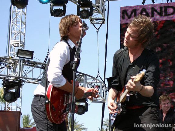 Mando Diao @ 2007 Coachella Festival