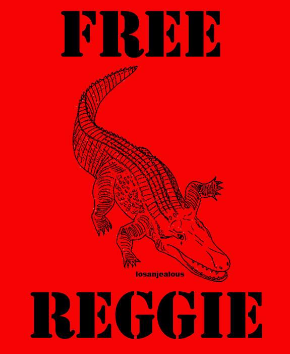 Free Reggie by LosAnJealous.com