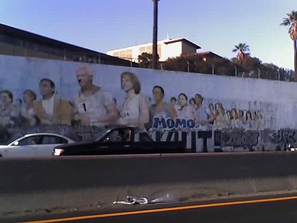 More Craptastic Than Ever Before: The 10 Freeway Marathon Mural