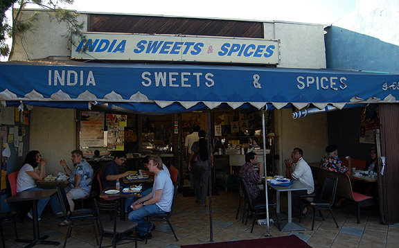 On Curtness: India Sweets & Spices