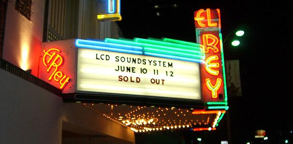 LCD Soundsystem @ El Rey