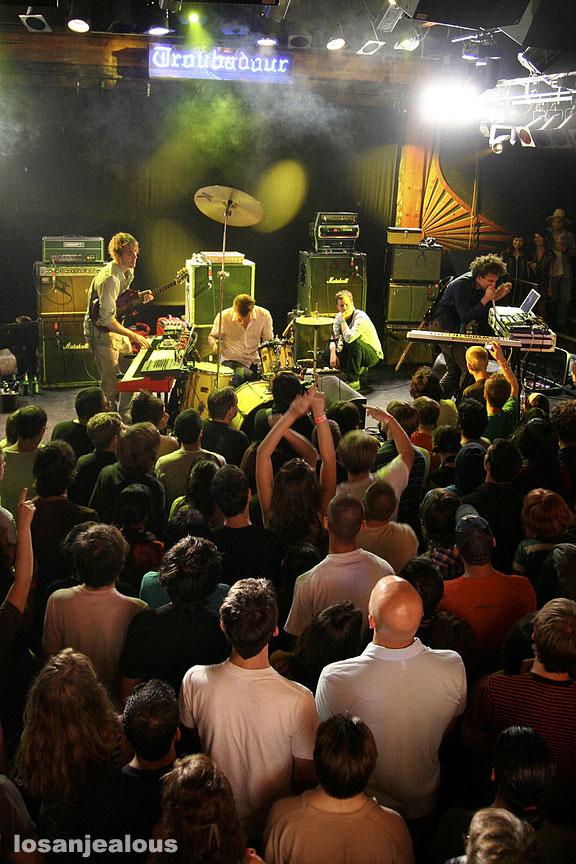Battles @ Troubadour, 6/30/07