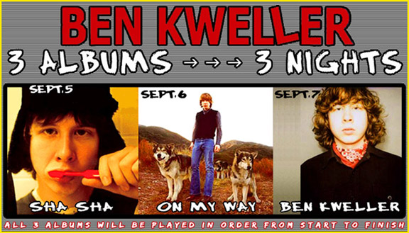 Kweller Latest Saucier To Pour Full Album Gravy Onto Los Angeles Concertgoers' Dinner Plates
