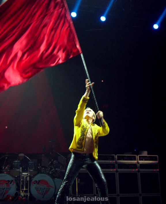 Van Halen Practice @ Forum, 9/16/07