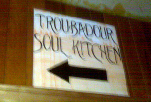 Troubadour Snackbarwatch: It Is Not A Snackbar. It Is Not A Bookstore. It Is A SOUL KITCHEN.