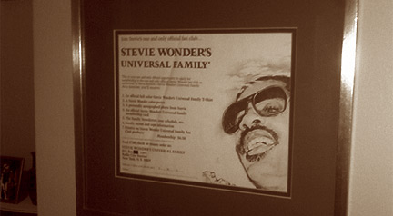 Stevie Wonder's Universal Family Application Form