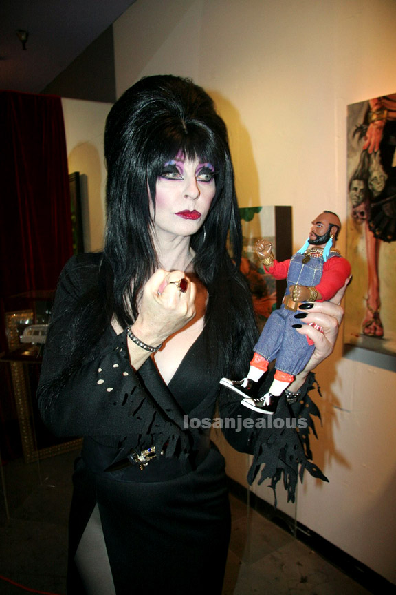 Mr. T Visitor Guide: Elvira Incident, Hollywood