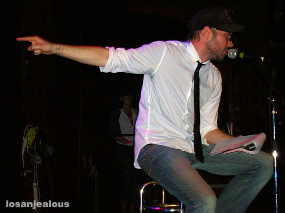 Buck 65 at the Troubadour, November 4, 2007