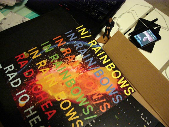 Losanjealous Shipping Tracking Confirmation: In Rainbows Has Arrived