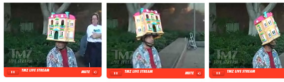 Covering The Live Coverage: TMZ Finds Man With Rare Dollhouse Head Outside Britney Spears-Related Locale