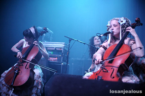 Rasputina @ Henry Fonda Theater on February 16, 2008