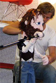 Monday Puppetry: Herman Dune @ Echo Curio Shop Tonight
