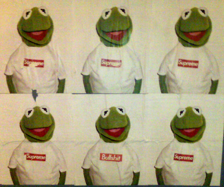 Your Supreme T-Shirted Kermit The Frog Unlicensed Spokesperson Scandal Update