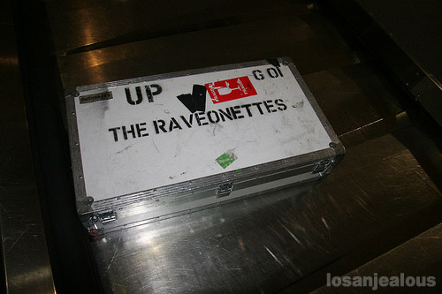 SXSW Early Look: Lonely Raveonettes Luggage, Austin-Bergstrom International Airport
